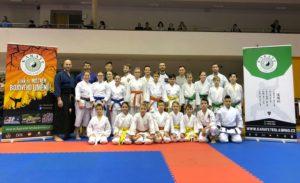 Karate Tesla Brno získala 15 medailí. Národní pohár ČATK - Vodova.