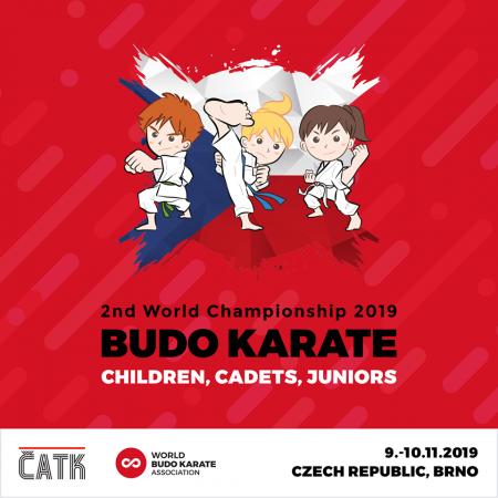 Světový pohár dětí a mláděže Budo karate Brno DRFG Arena