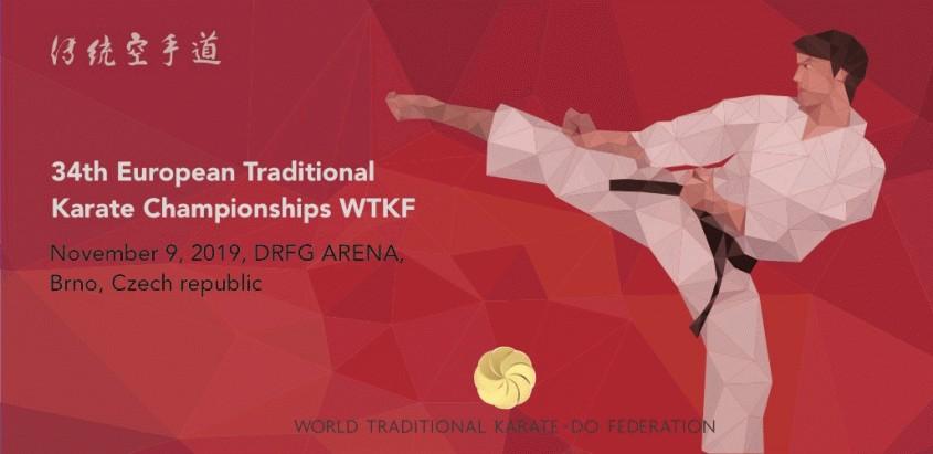 Mistrovství Evropy WTKF Brno DRFG Arena