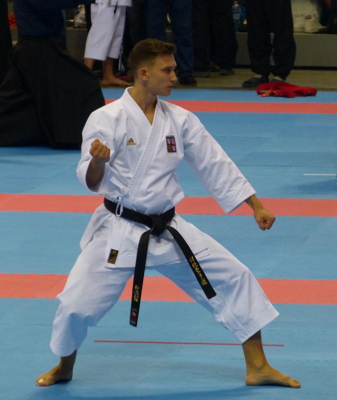 Filip Popelka - Karate TJ Tesla Brno