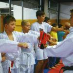 Trénink karate pro děti v Brně.