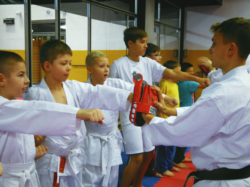 Trénink karate pro děti v Brně na Lesné